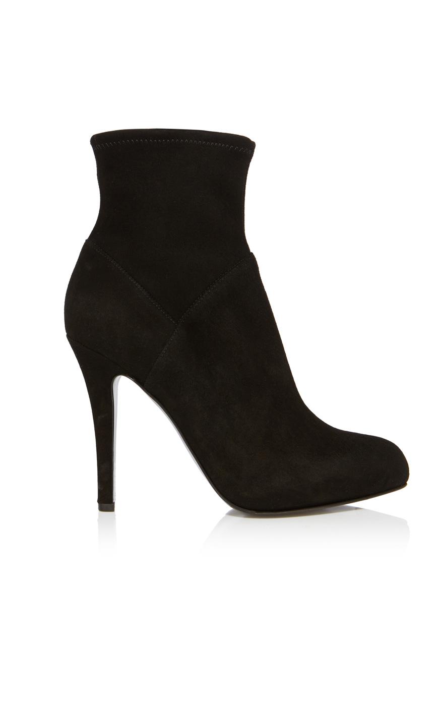 Karen Millen Suede Ankle Boot