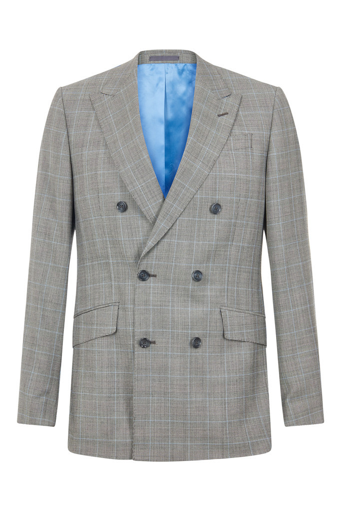 Hawkins & Shepherd Grey Suit