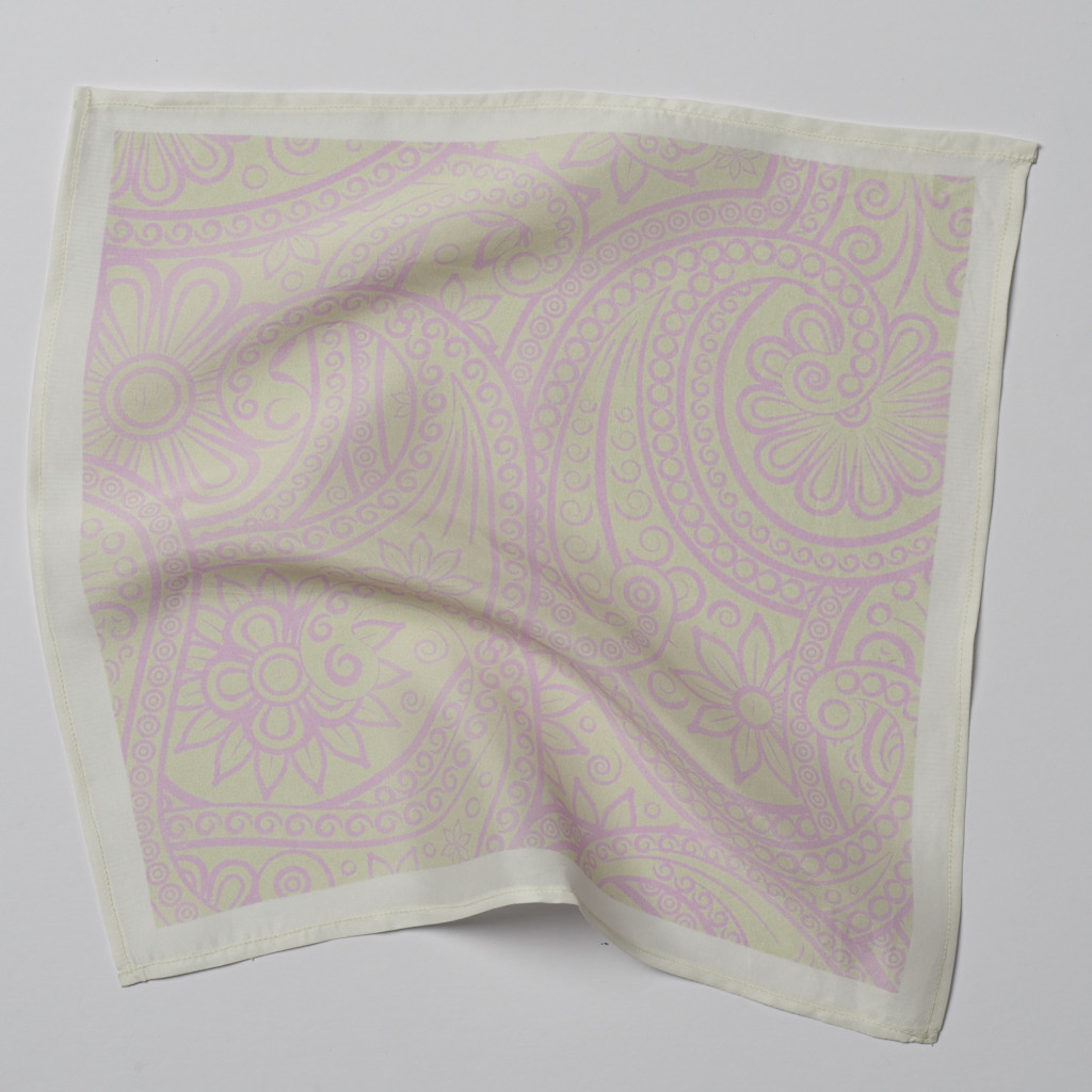 Pink Pastel Pocket Square
