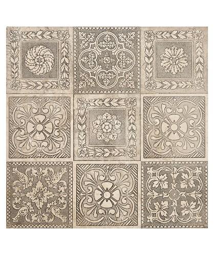 Antiqued Silver Tiles