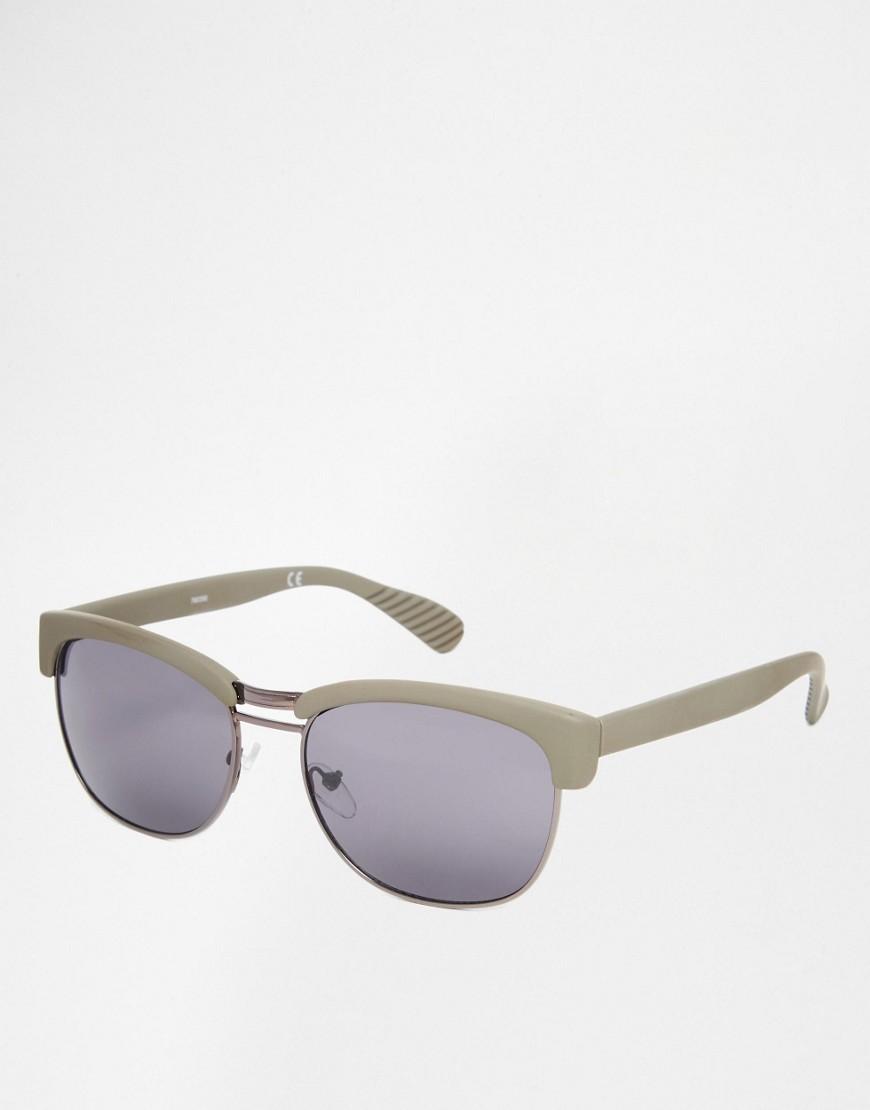 ASOS Retro Grey Sunglasses