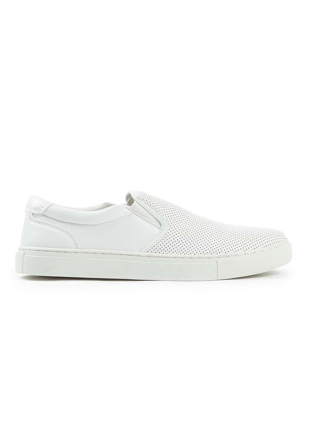 Topman White Slip on Trainers