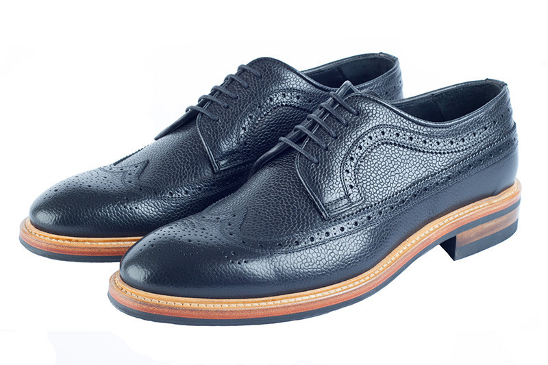 Black Brogues by Hawkins & Shepherd