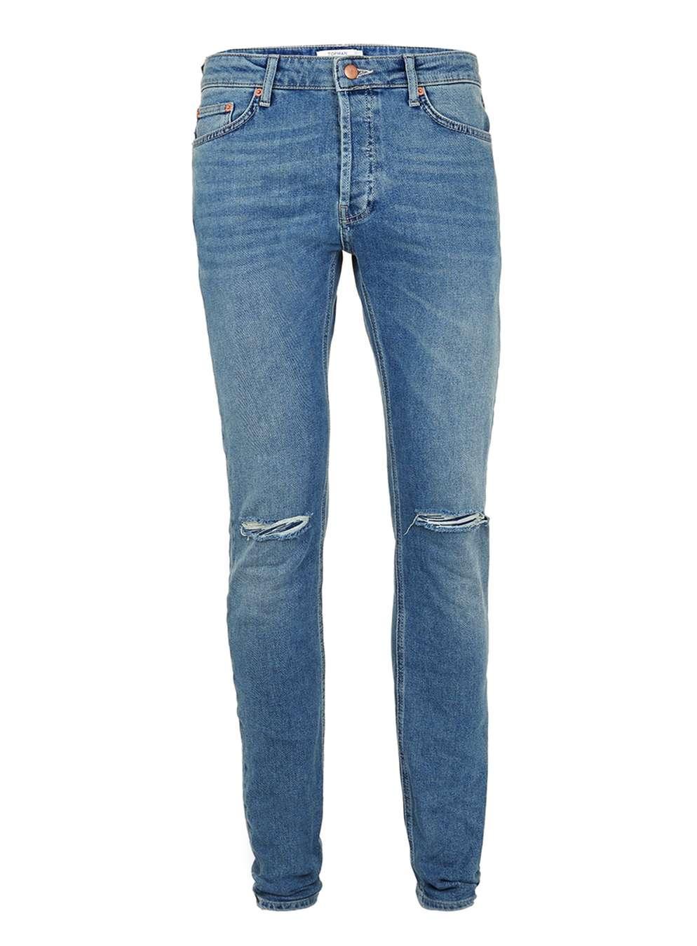 Light wash Rip Jeans