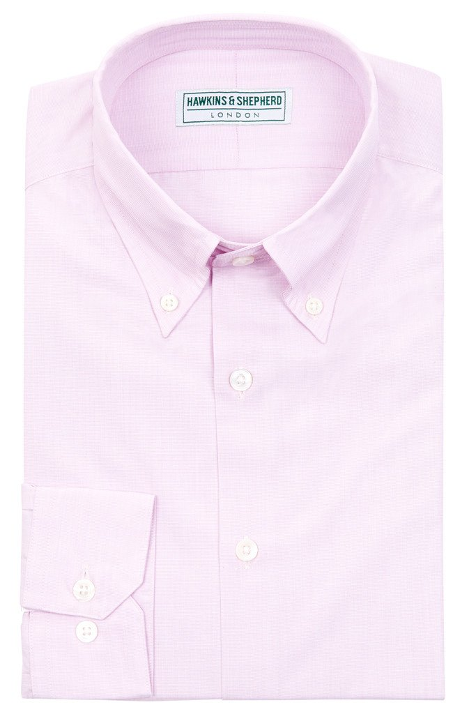 Lilac Button-Down Shirt