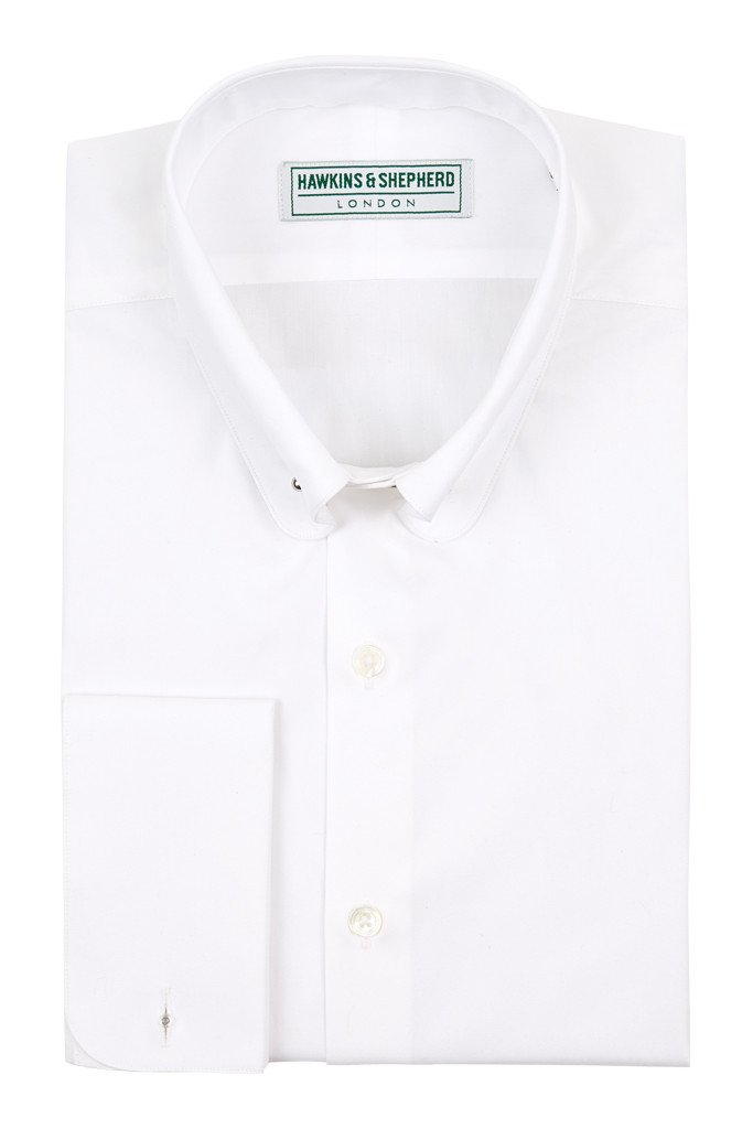 White Shirt with Pin bar