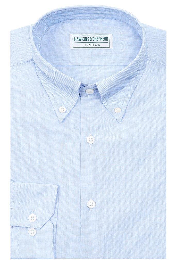 Blue Button-Down Shirt