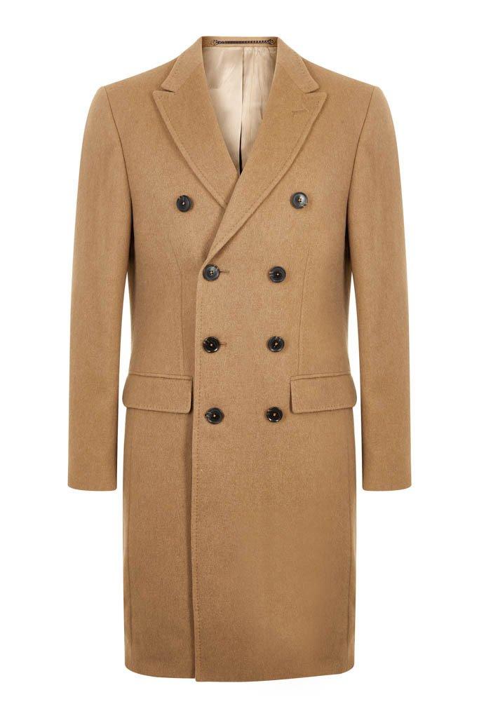 Camel Cashmere Overcoat