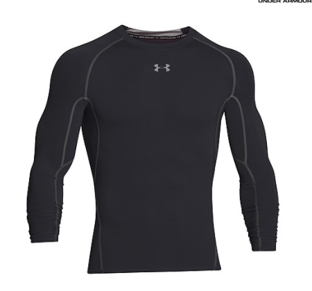 Under Armour Black long sleeved top