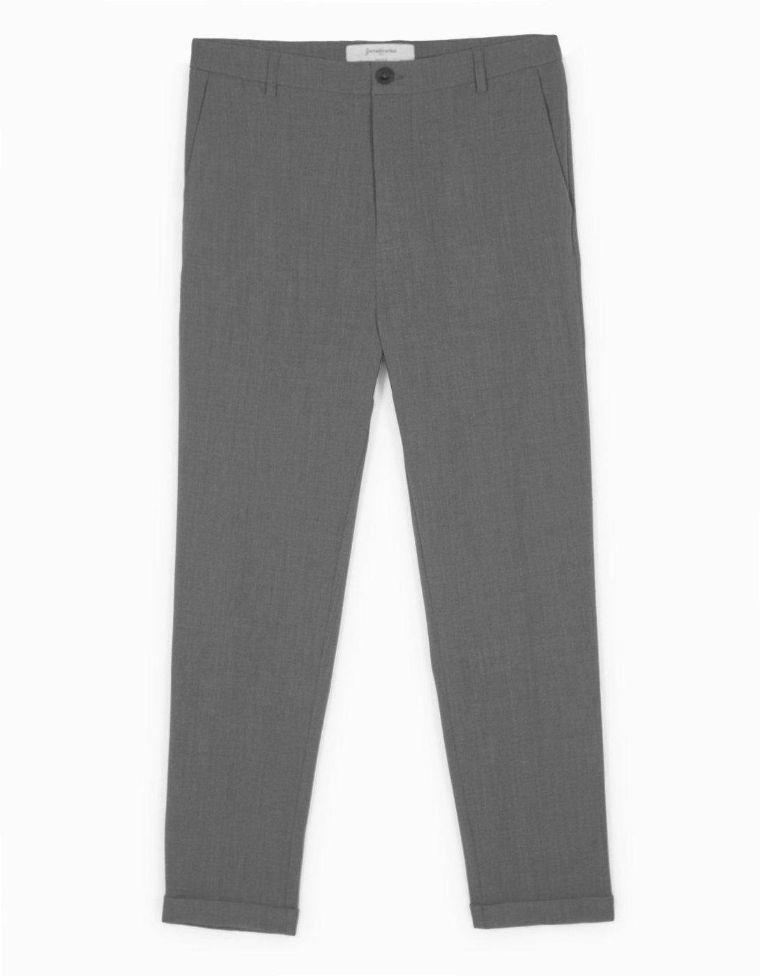 Stradivarius Grey Trousers