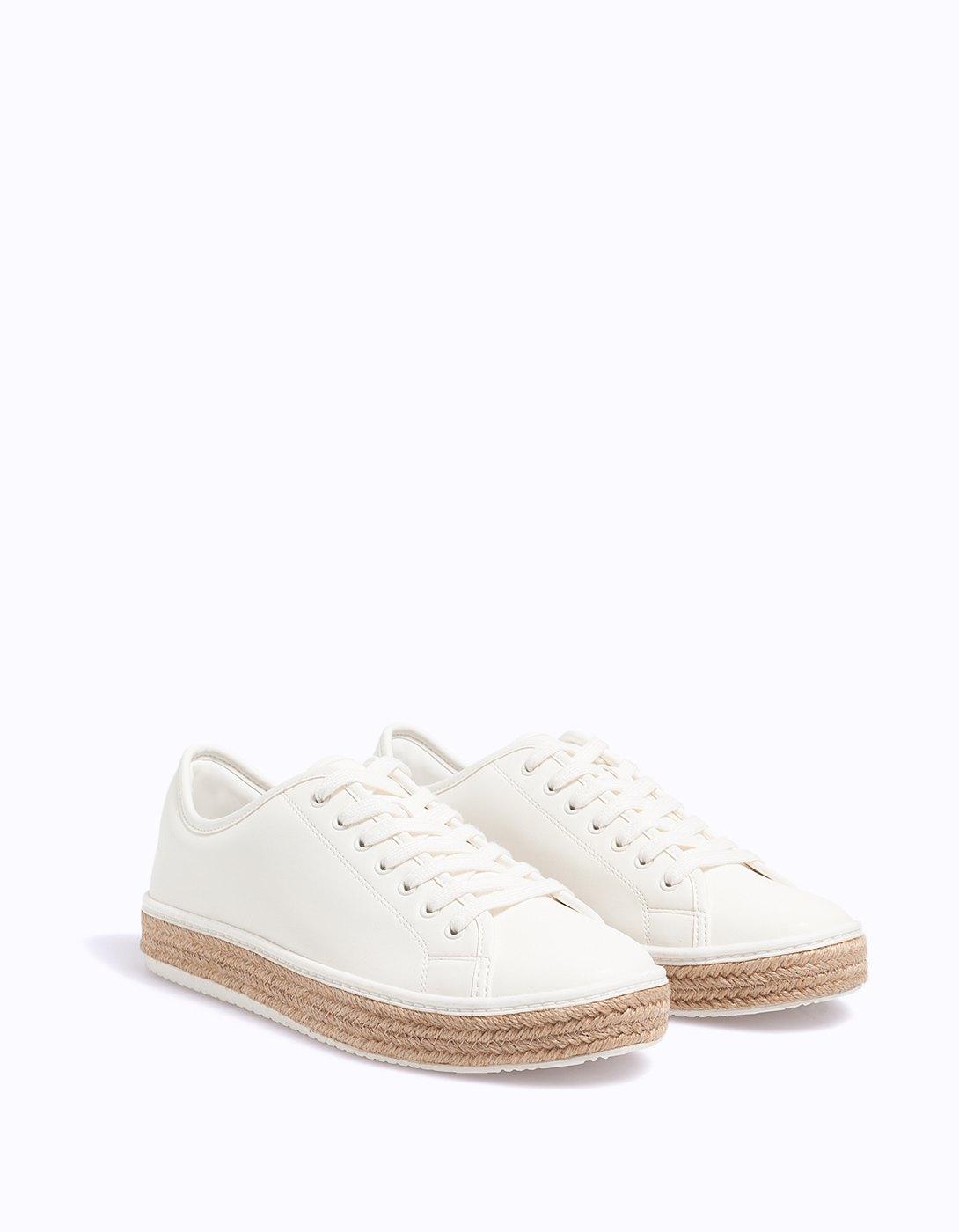Stradivarius White Sneakers
