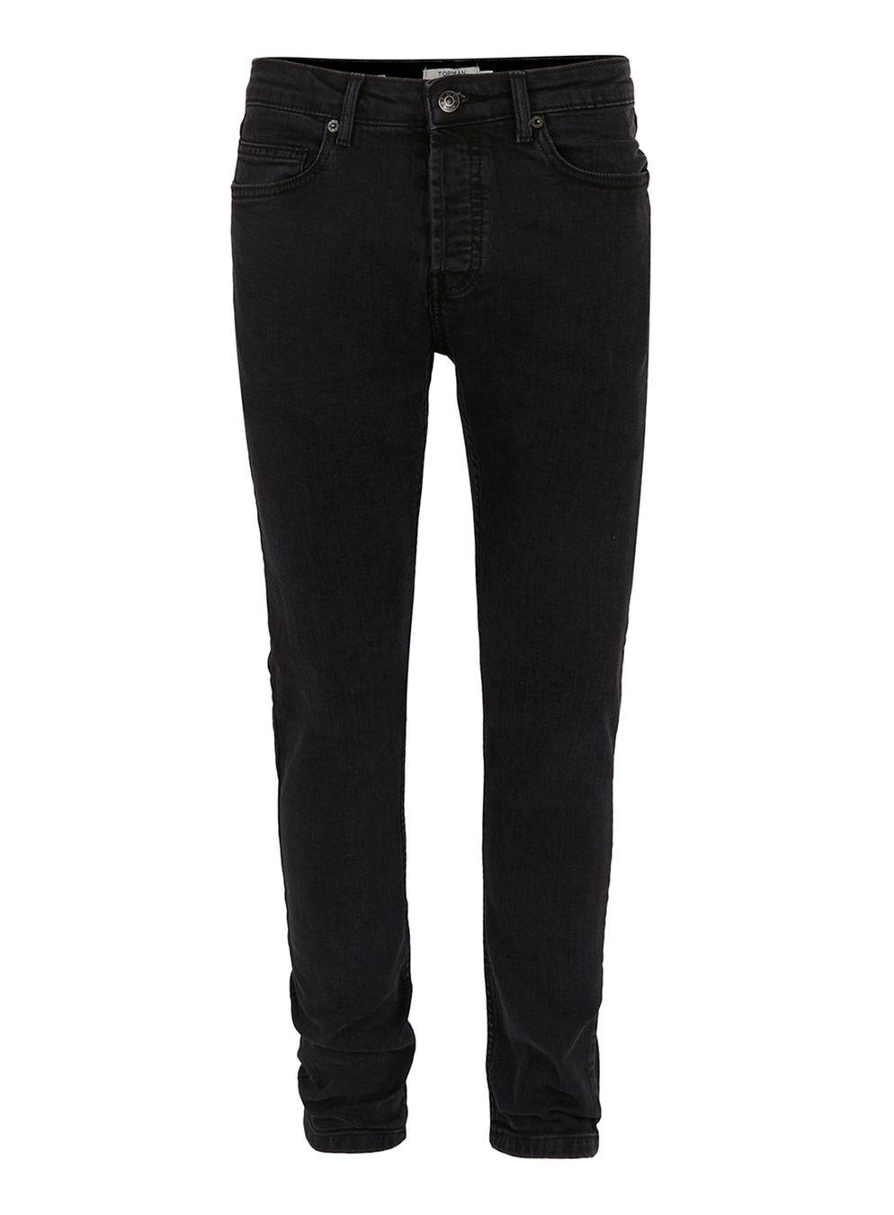 Topman Skinny Black Jeans