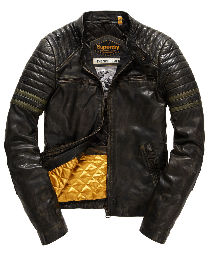Superdry Leather Jackets
