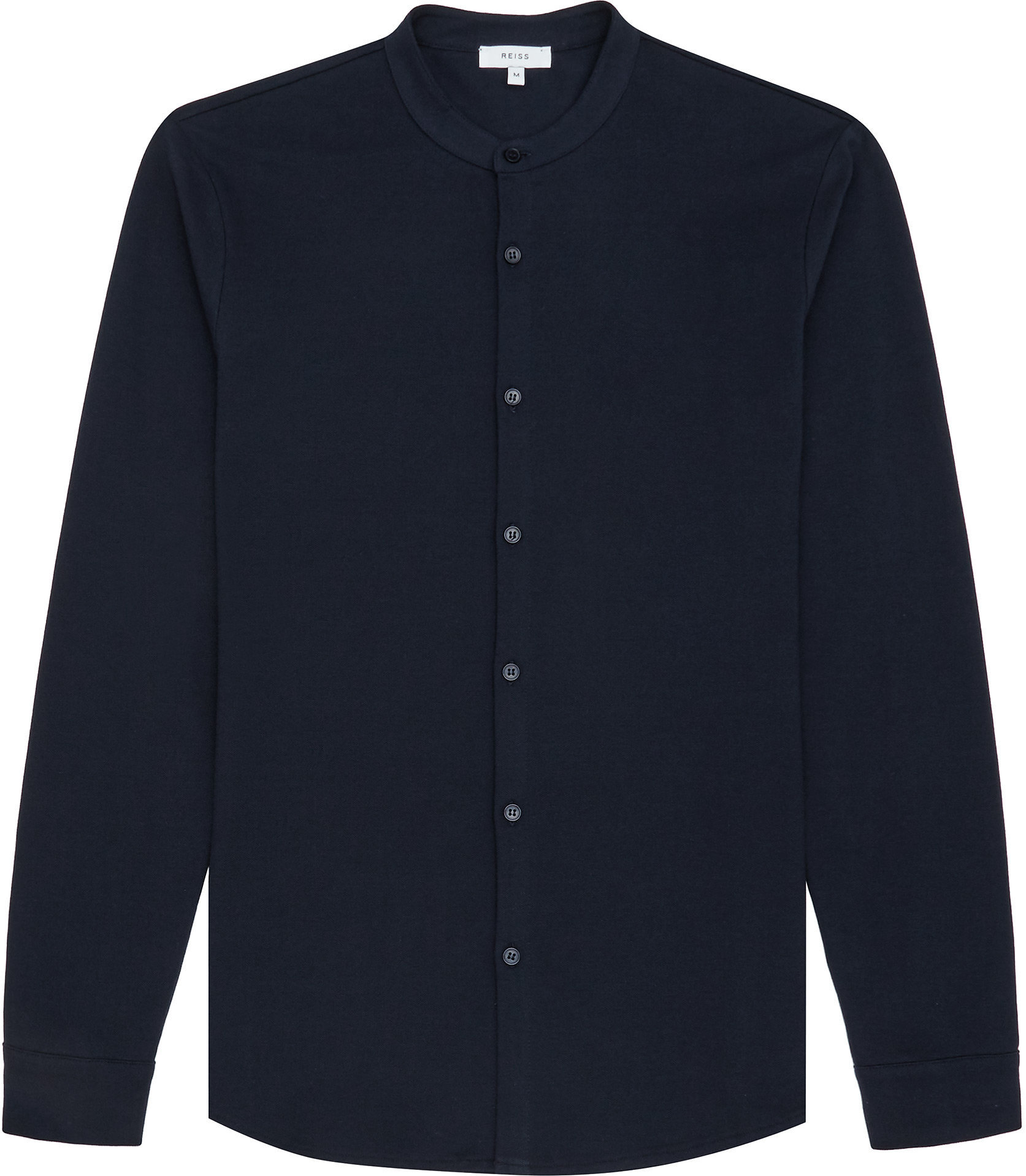 Navy Grandad Shirt