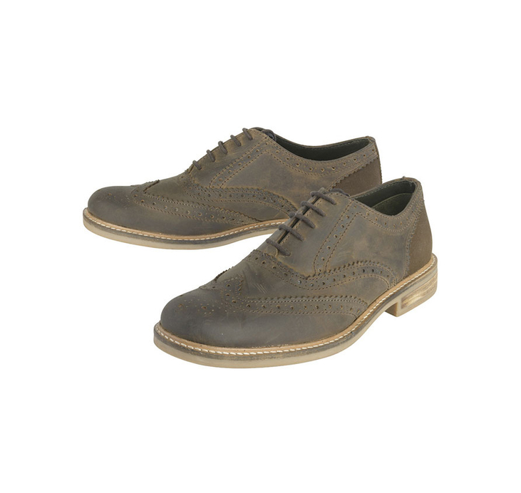 BARBOUR REDCAR OXFORD BROGUES