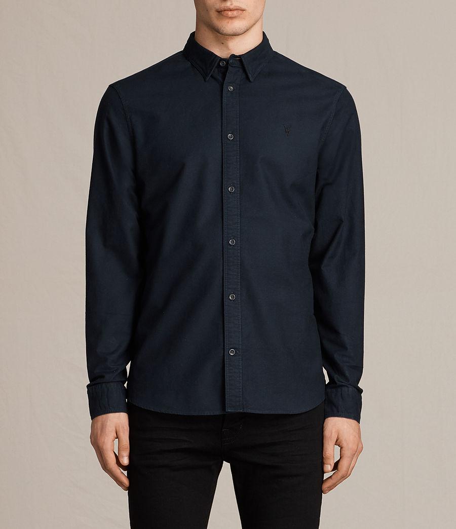 Allsaints Navy Shirt