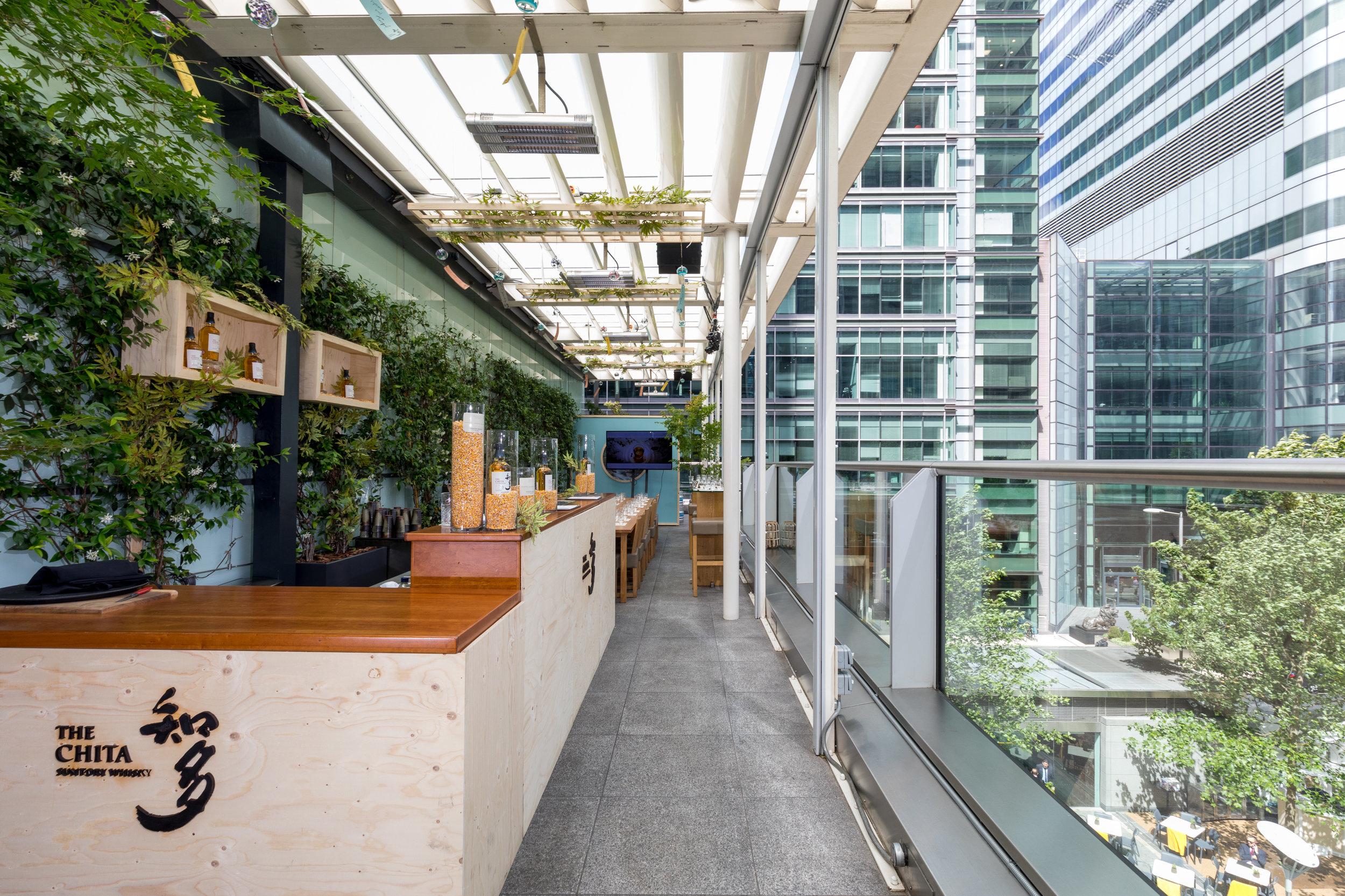 Terrace - Suntory Chita Terrace at ROKA Canary Wharf.jpg