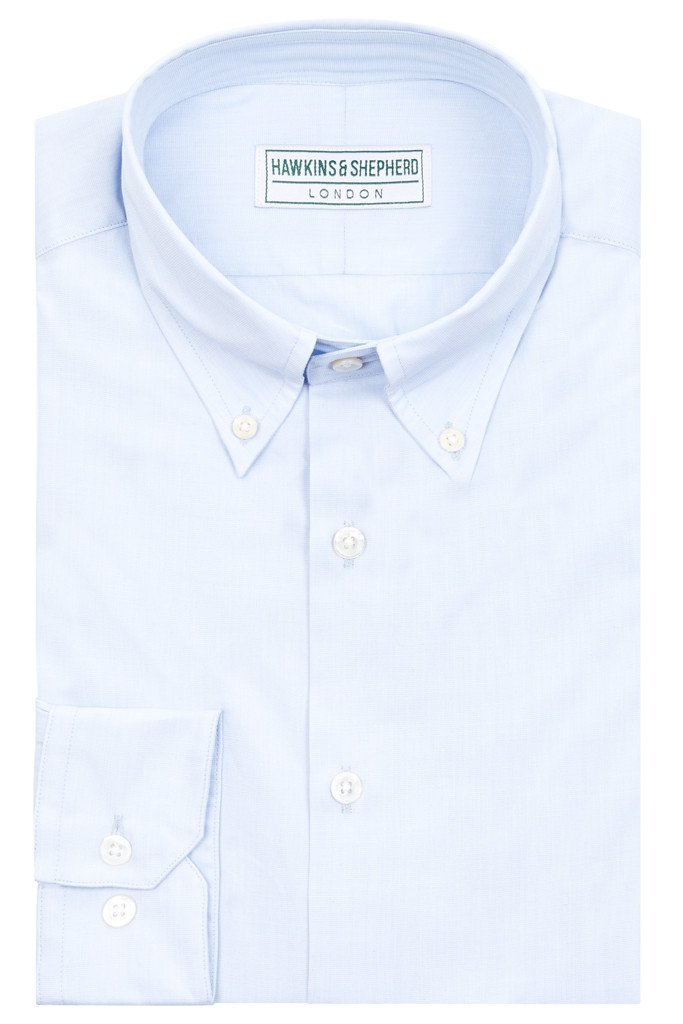 Light-Blue Button-Down