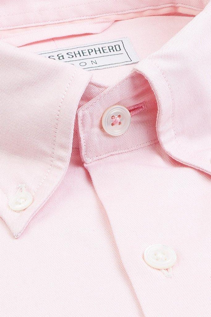 Pink Button-down shirt