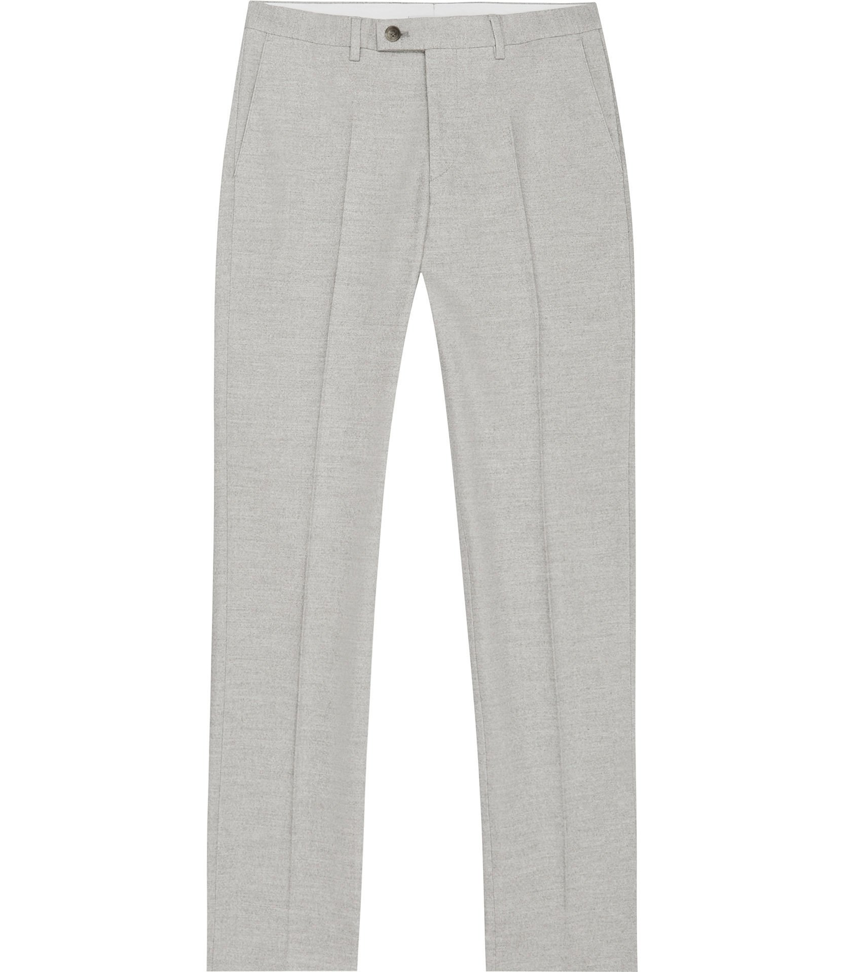 SLIM MELANGE TROUSERS