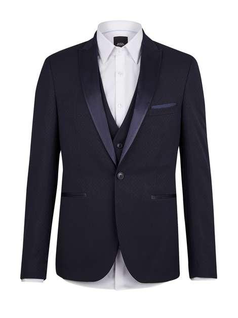 Burton Navy Tuxedo
