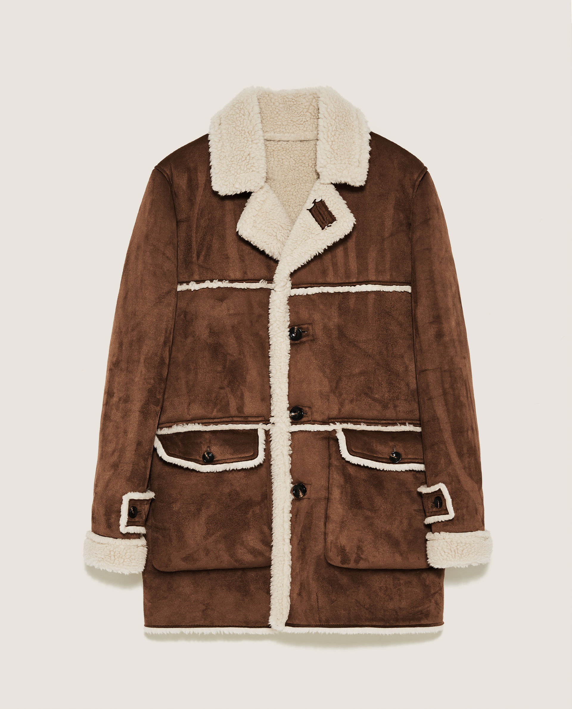 ZARA DOUBLE-SIDED COAT
