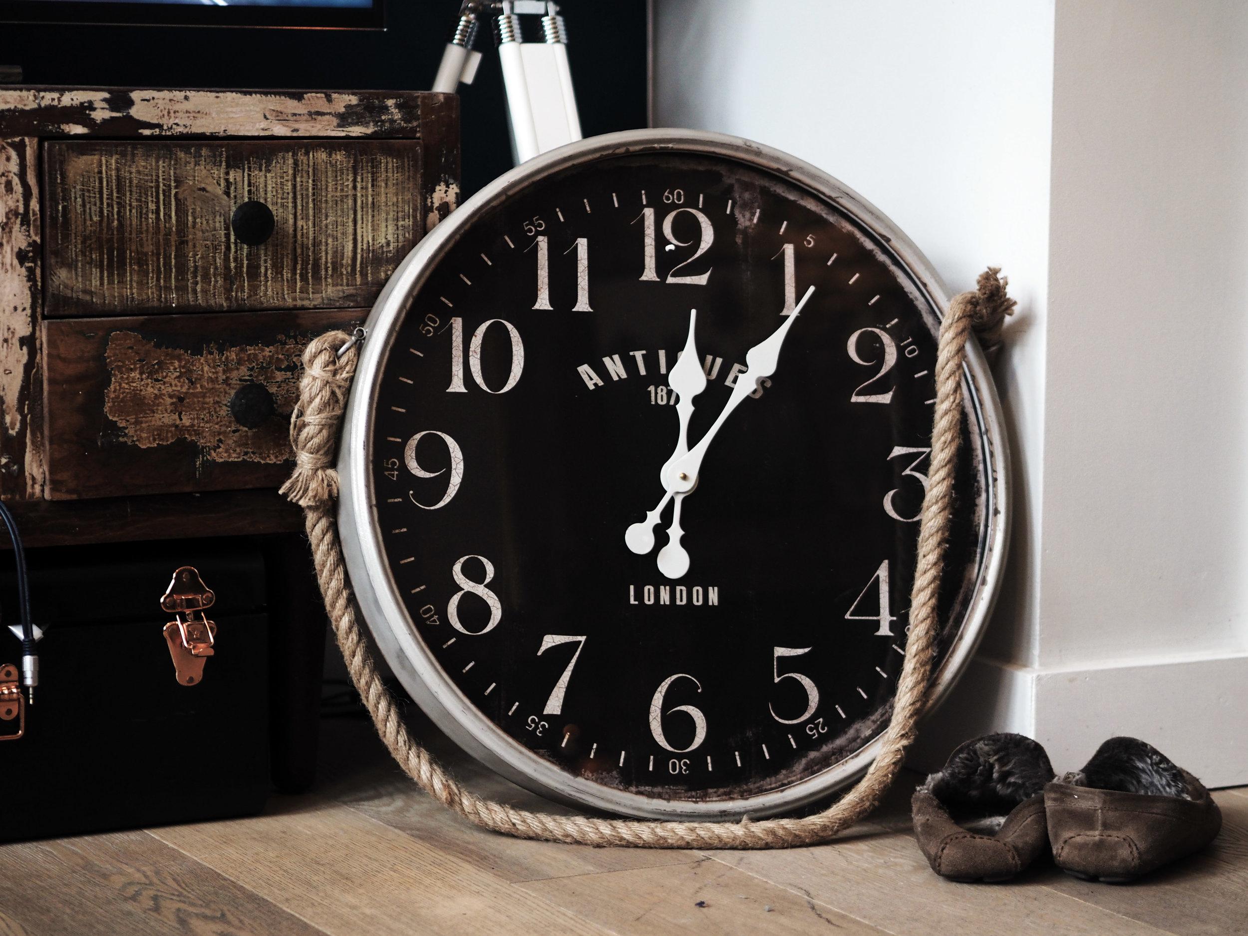 Homesense Antique Clock.jpg