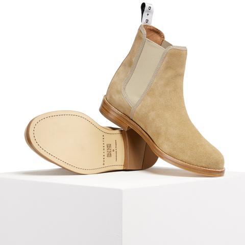 Cream Camel Chelsea Boot