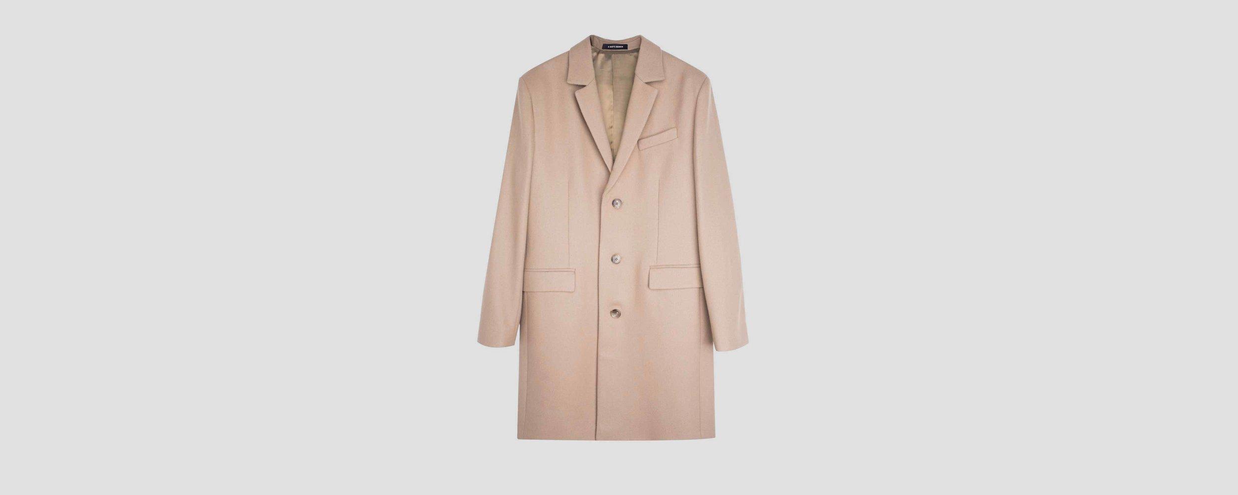 Light Camel Overcoat