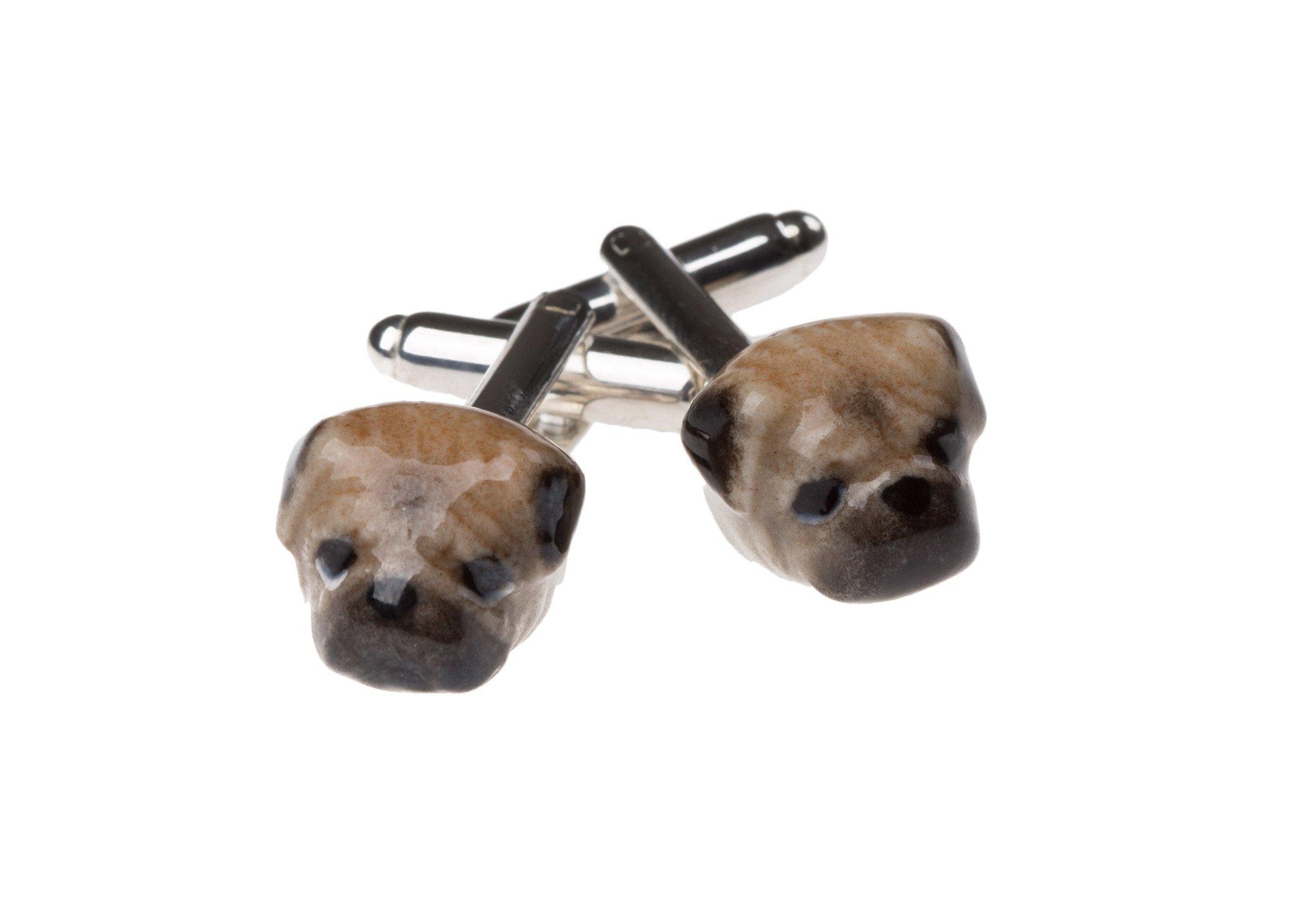 Pug Cufflinks £35