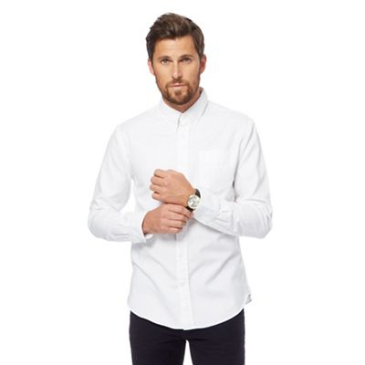HAMMOND & CO. BY PATRICK GRANT WHITE TWILL SHIRT