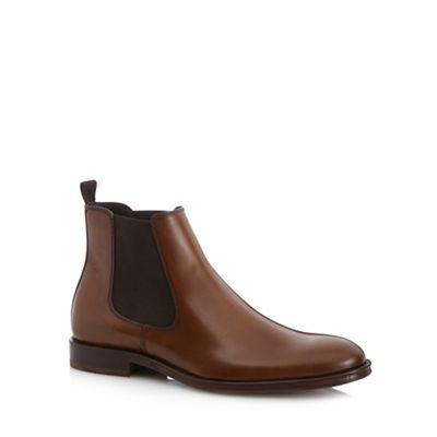 HAMMOND & CO. BY PATRICK GRANT TAN LEATHER CHELSEA BOOTS