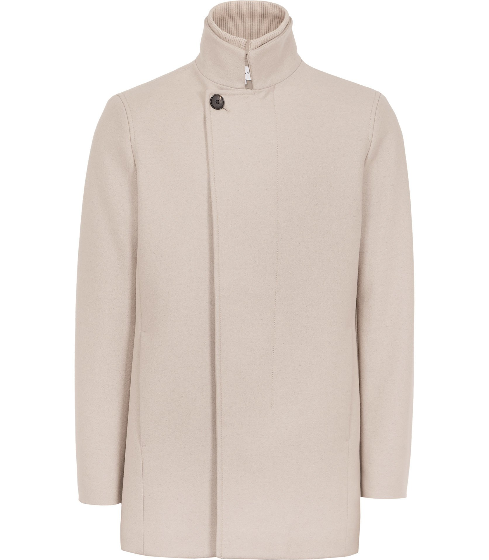 Reiss Funnel Neck Coat £295
