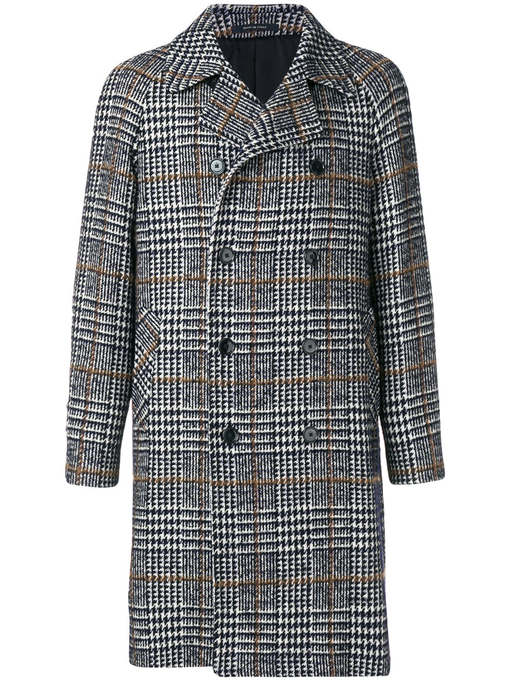 Tagliatore Checked Overcoat £530