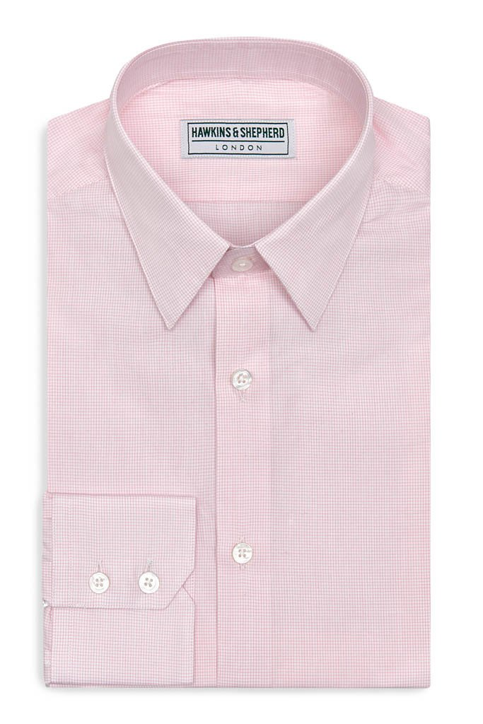 Hawkins & Shepherd Pink Shirt £90