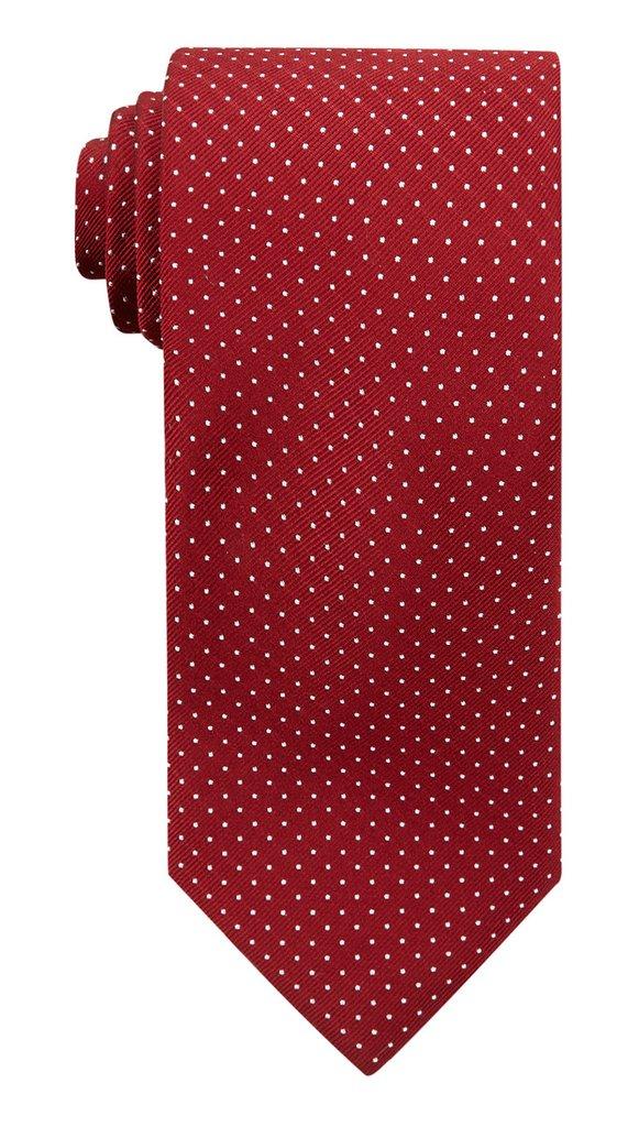 Red Polka Silk Tie £45