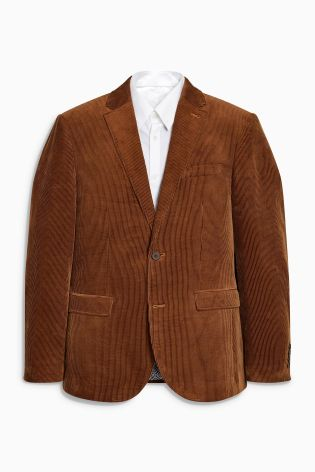 NEXT Rust Cord Blazer