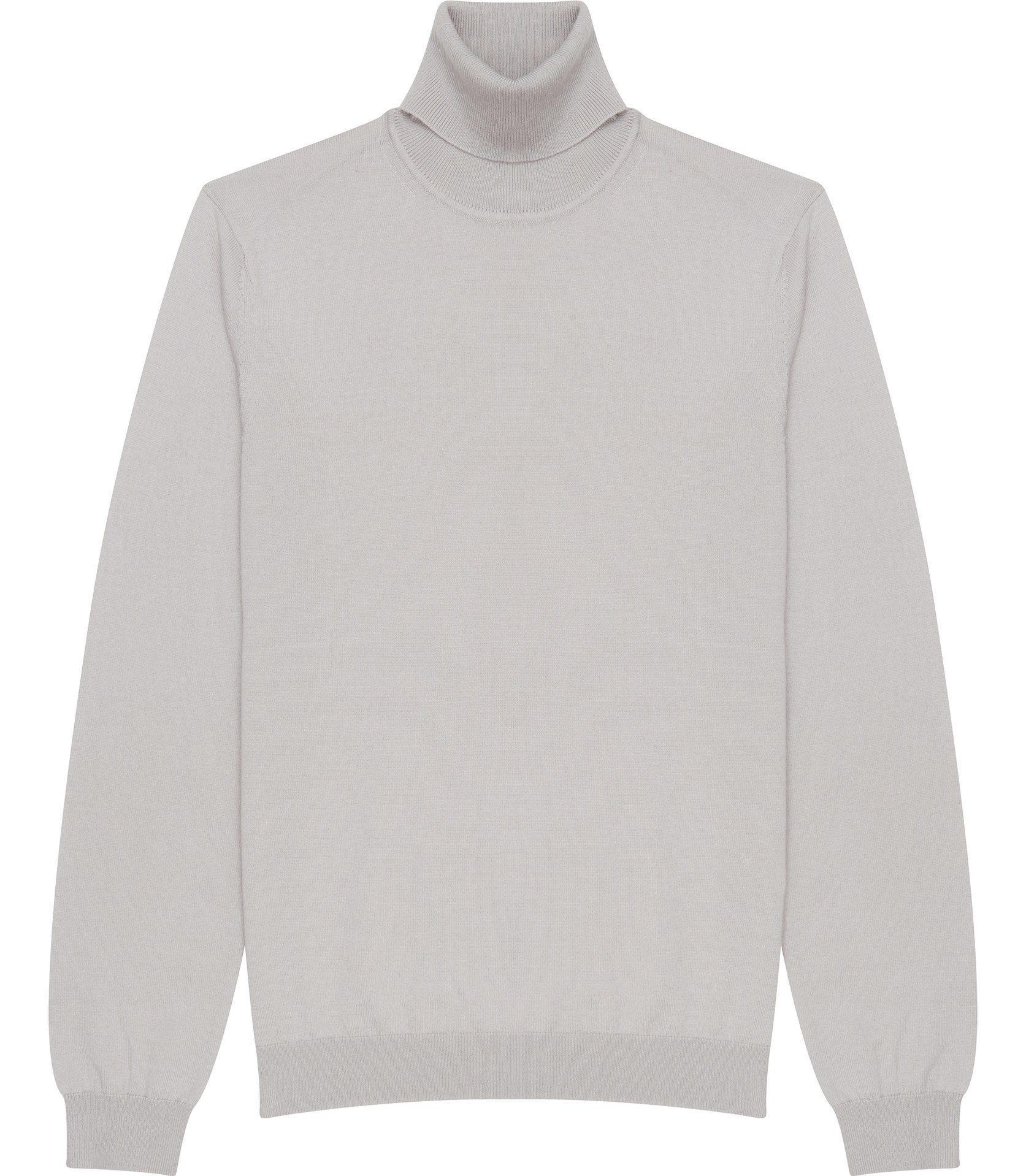 Reiss Grey Roll-neck