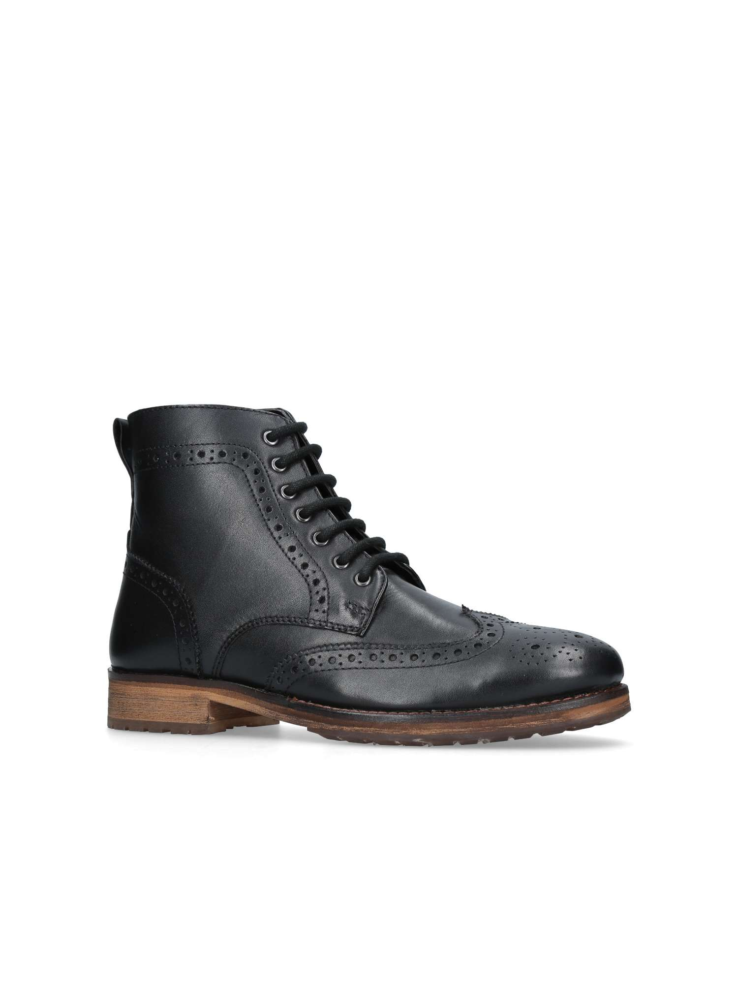 Black Brogue Boots