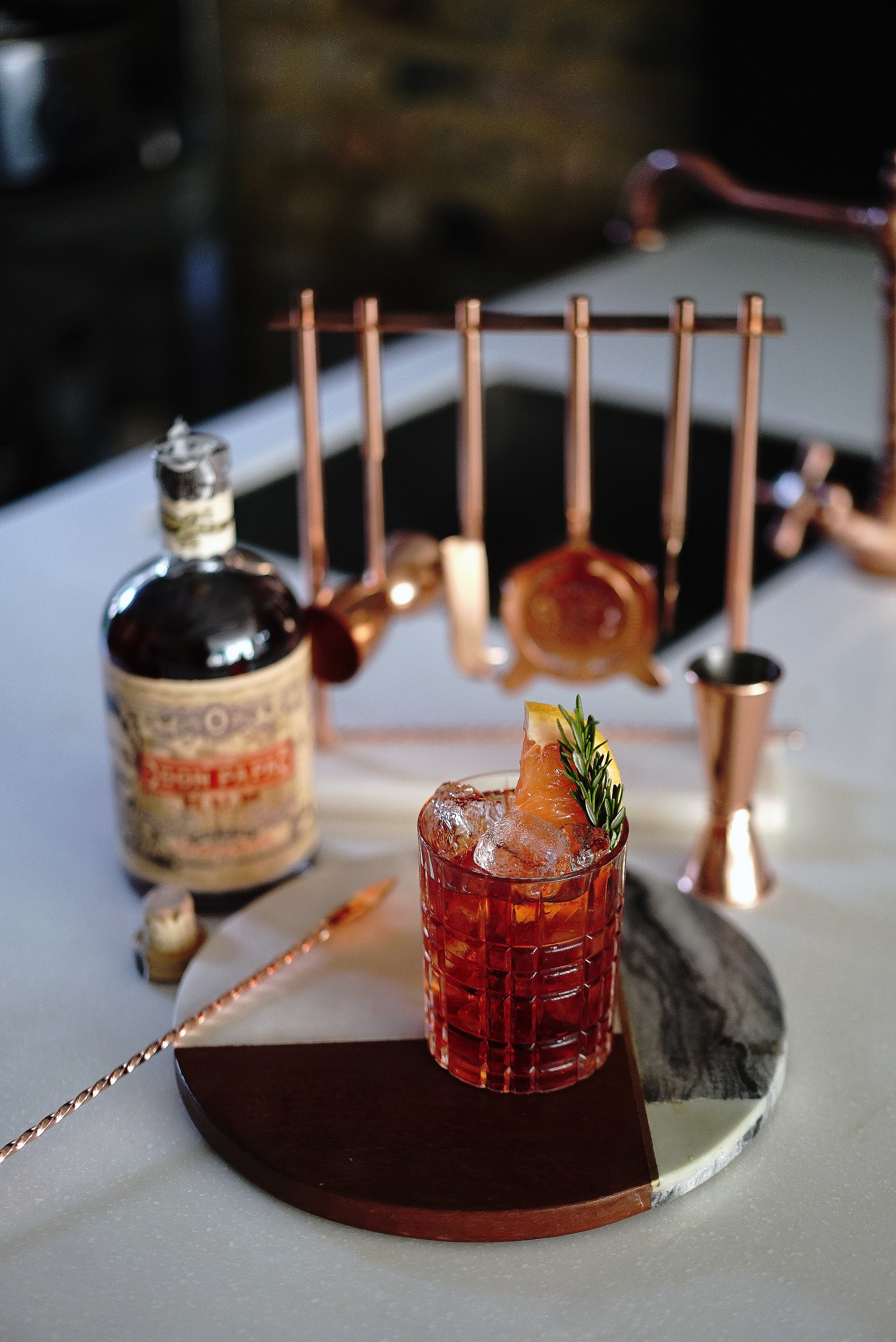 Don Papa Rum Cocktail - The Papa Negroni - Portrait.jpg