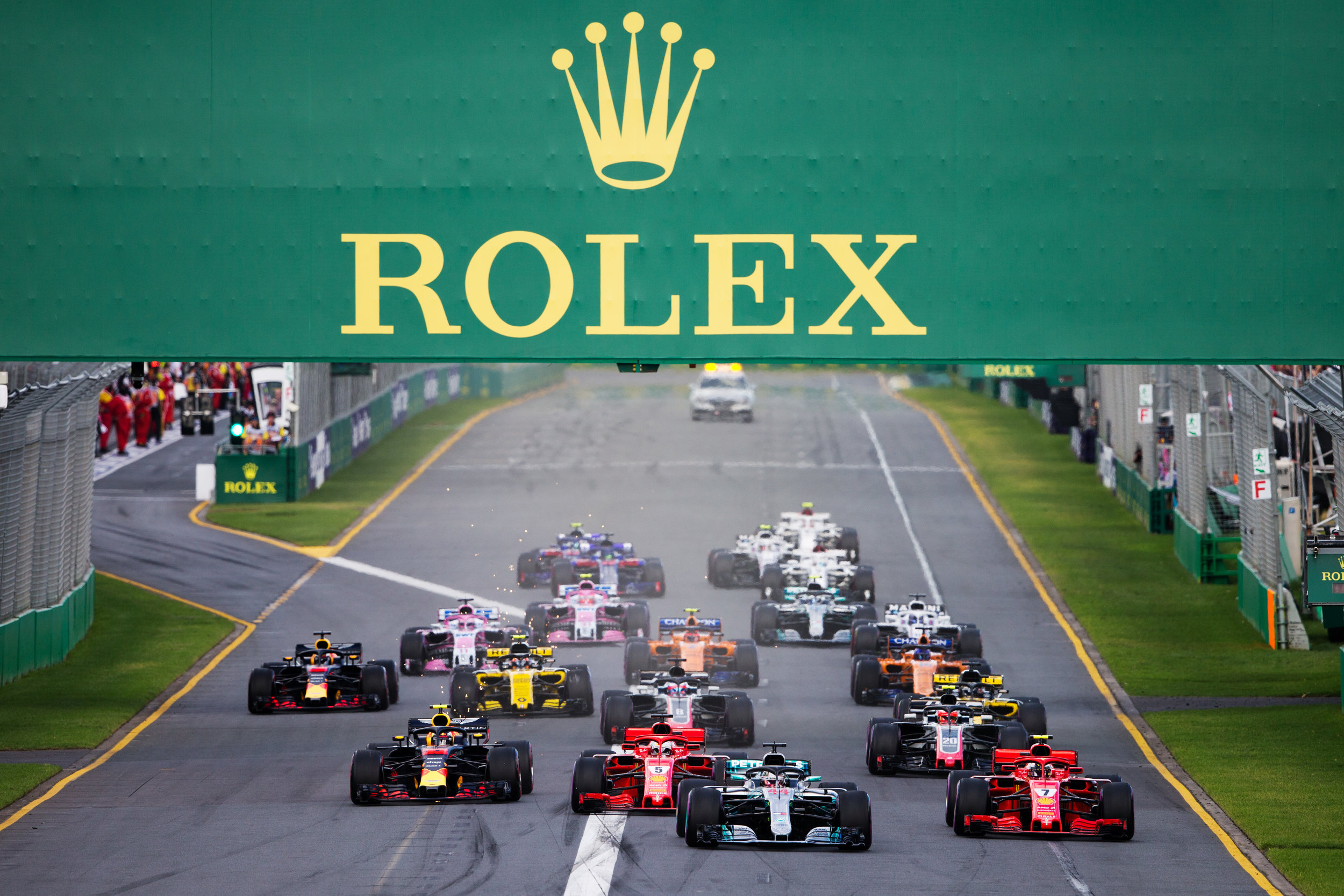 ©Rolex/James Moy THE START OF THE FORMULA 1 2018 ROLEX AUSTRALIAN GRAND PRIX