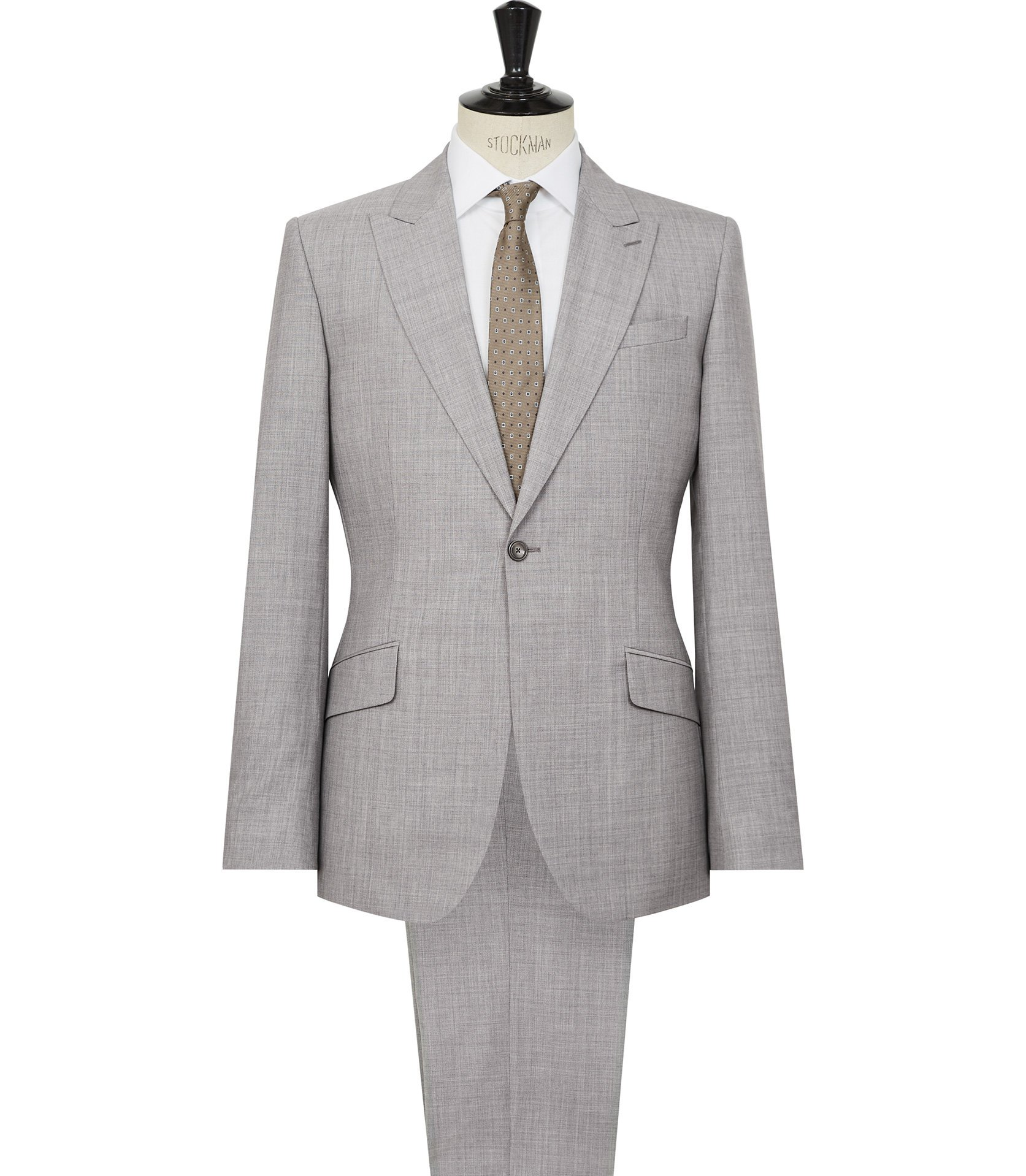 Light Grey Suit