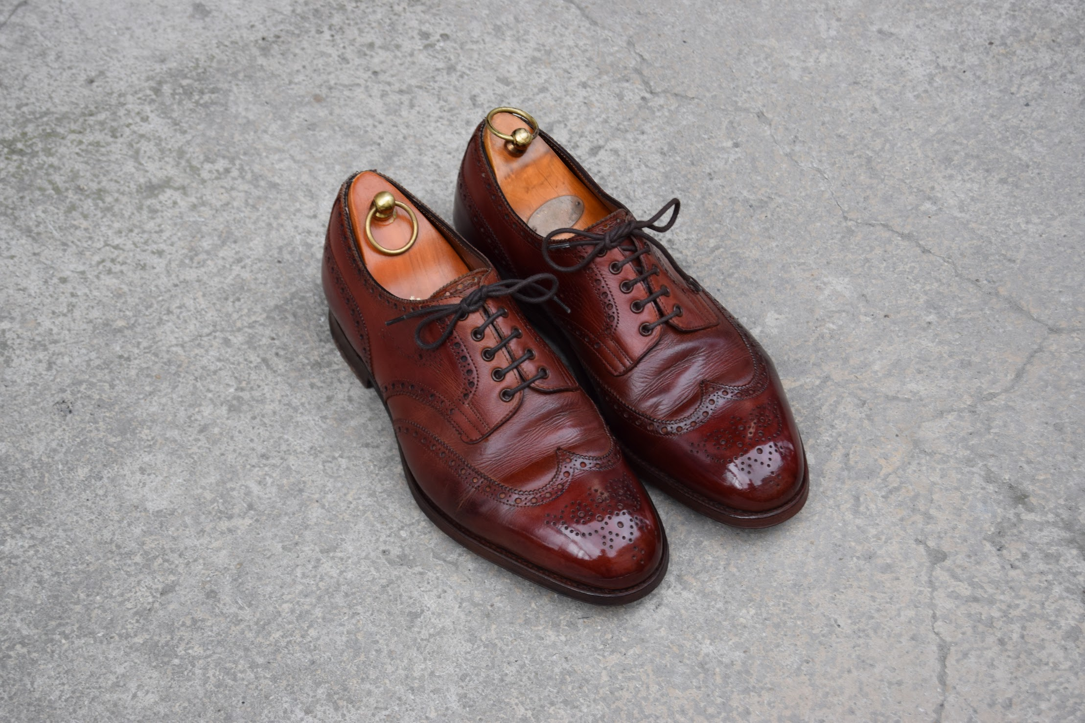 Shoes After a good shoe shine.