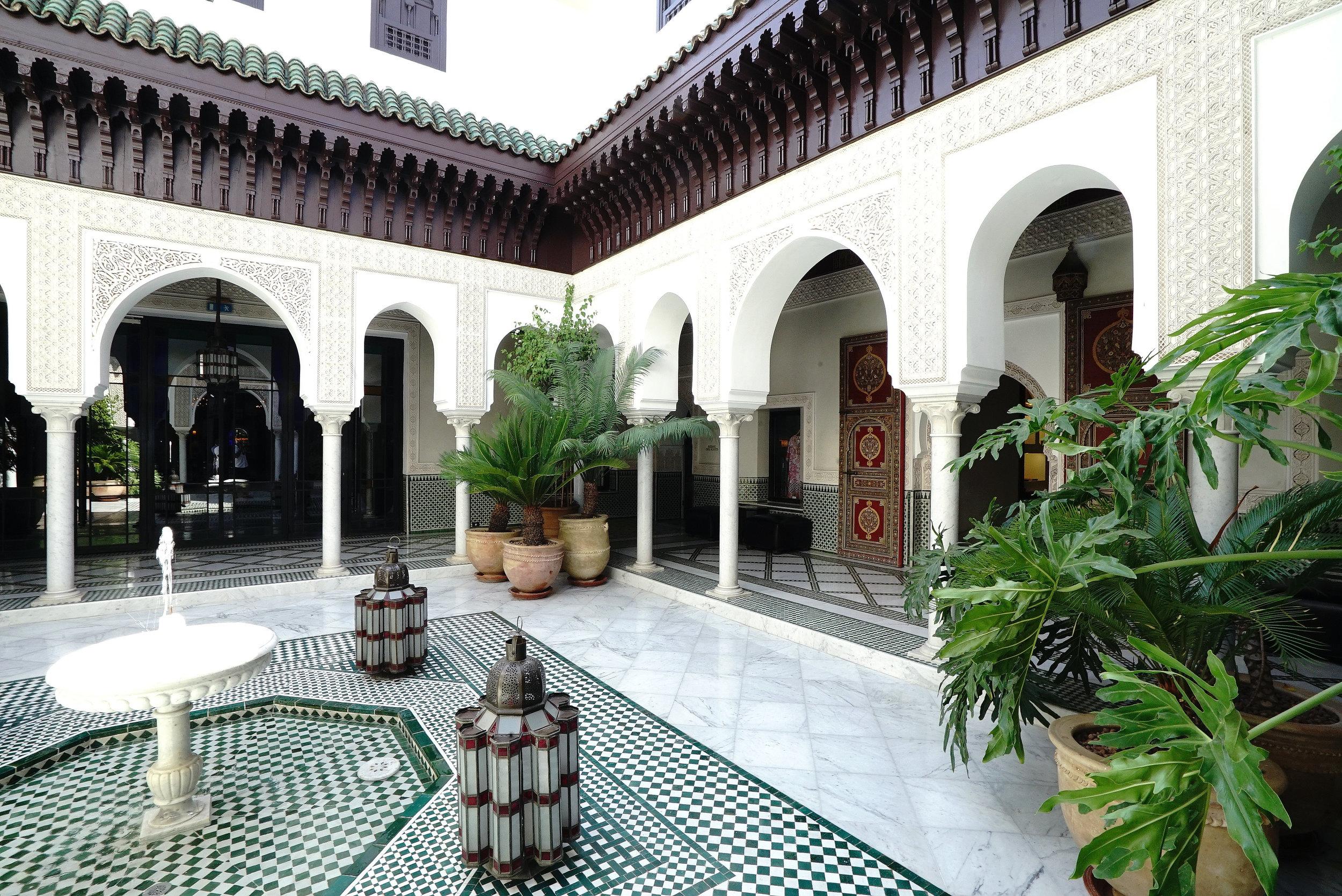 La Mamounia Morocco Courtyard.jpg
