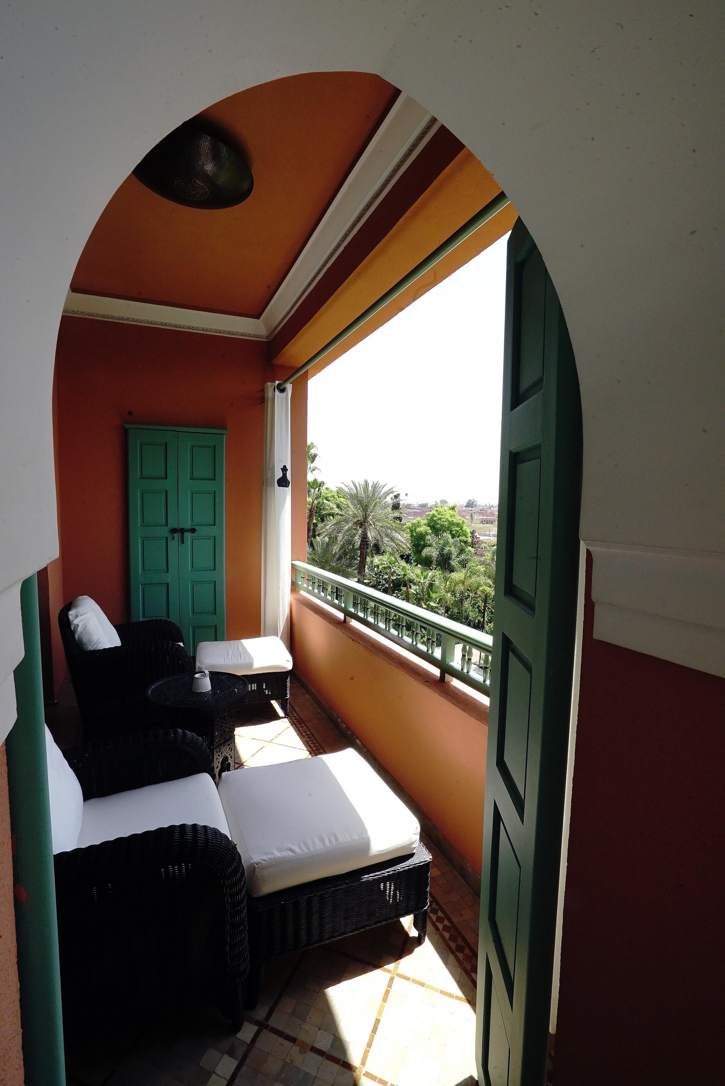 La Mamounia Morocco Room Balcony.jpg