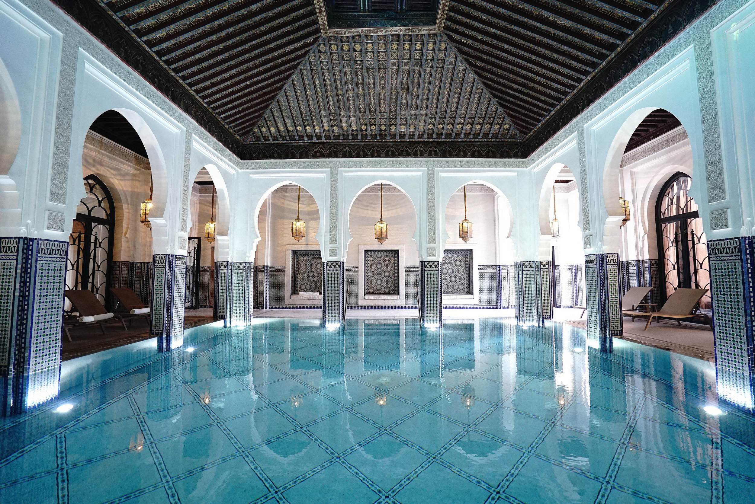 La Mamounia Morocco Indoor Swimming Pool 2.jpg