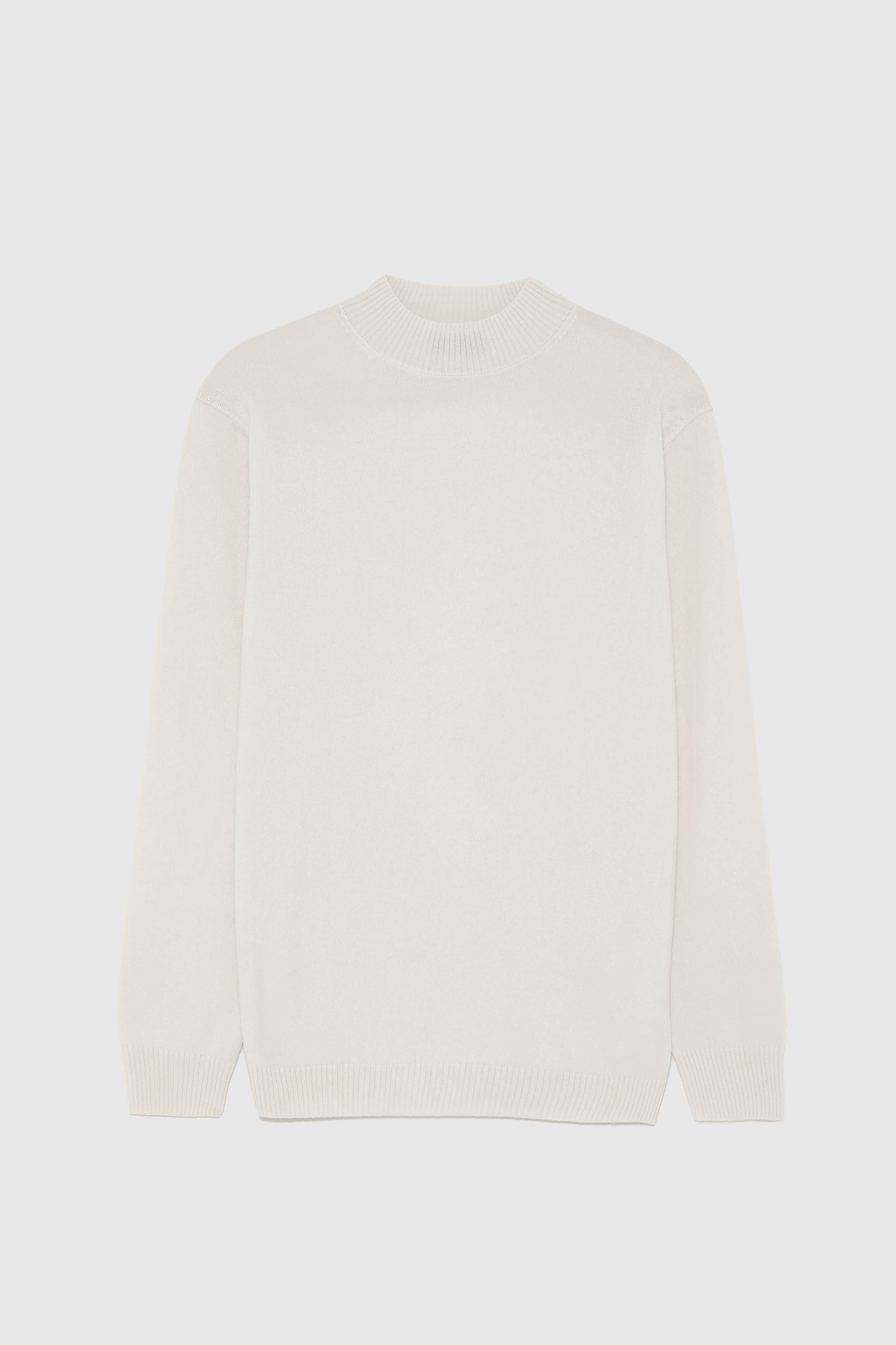 Zara Cream Cashmere Sweater