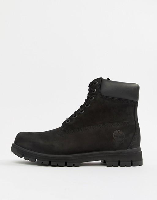 ASOS Black Timberland Boots