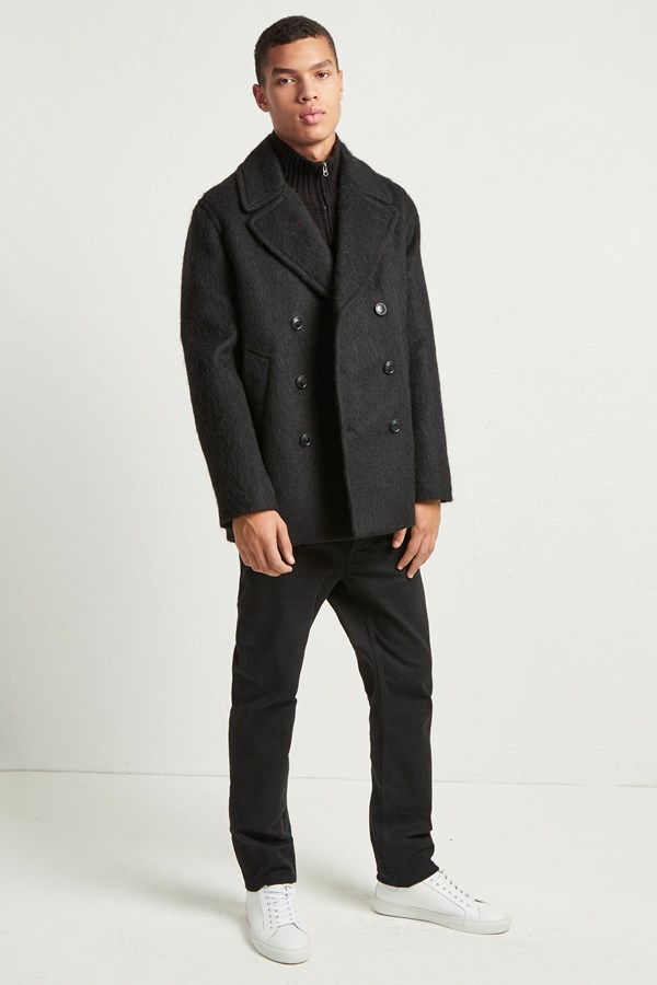 French Connection DELUXE PILE COAT