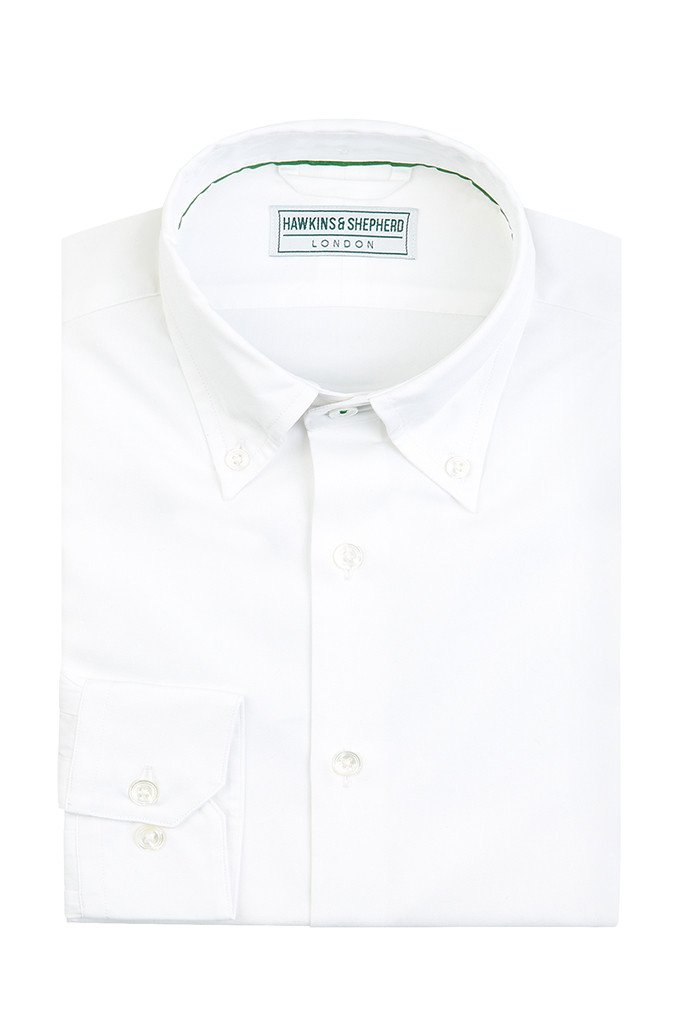 Hawkins & Shepherd White Button-Down Shirt
